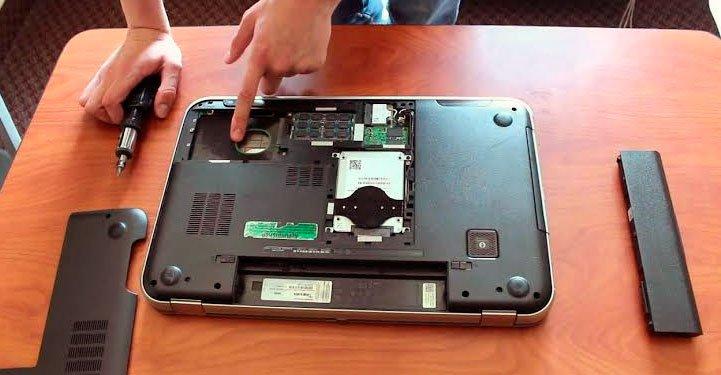 Los jugadores actualizan las laptops cuando necesitan más espacio en el HDD